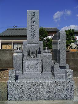 近島墓地の施工事例